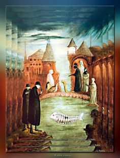 Leonora Carrington (1917~2011, English-born Mexican artist, surrealist painter, and novelist)