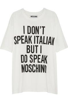 Shop now: Moschino T-Shirt
