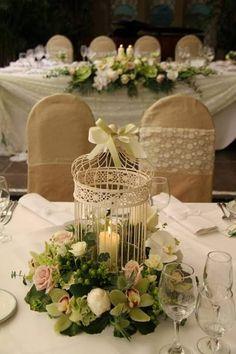 cages a oiseau deco www legrenierdelapresquile com table mariage lanterne shabby chic mariage