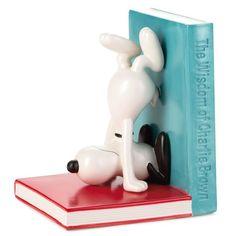 Peanuts® Snoopy Ceramic Bookend http://www.giftideascorner.com/gift-for-teachers/