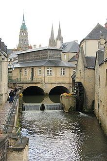 Bayeux France (Normandy region) was founded as a Gallo-Roman settlement in the 1st century BC