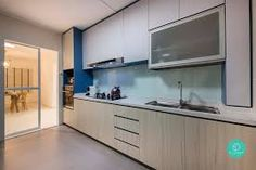 With before and after transformations so dramatic, these 6 HDB renovations deserve a spot in a reality makeover TV show. Classic Kitchen, Home Reno, Interior Design Kitchen, Modern, Kitchen Cabinets, Singapore, House, Furniture, Trendy Tree