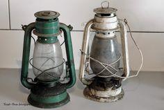 Pomysł na odnowienie lampy naftowej - DIY