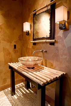 1000 images about bathroom bamboo in the bathroom on for Bamboo bathroom design