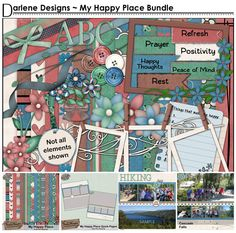 My Happy Place Bundle by DarleneH - $6.50 : Digital Scrapbooking Studio Scrapbooking Kit, My Happy Place, Happy Thoughts, Peace Of Mind, Studio, Day, Collection, Think Happy Thoughts, Study