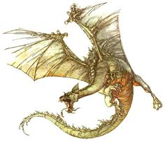 """Smaug from the Rankin-Bass adaptation of """"The Hobbit"""""""
