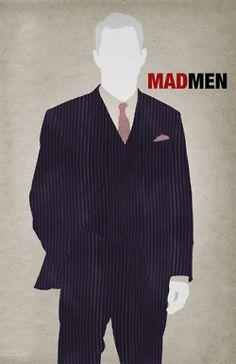 Mad Men Season 5 poster Roger Sterling