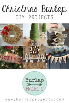 Christmas Burlap DIY Projects