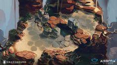 Shardbound Environment Concept, Airborn Studios on ArtStation at https://www.artstation.com/artwork/ZxXZN