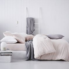 Home Republic - Ultra Soft Pink Marble - Bedroom Quilt Covers & Coverlets - Adairs online