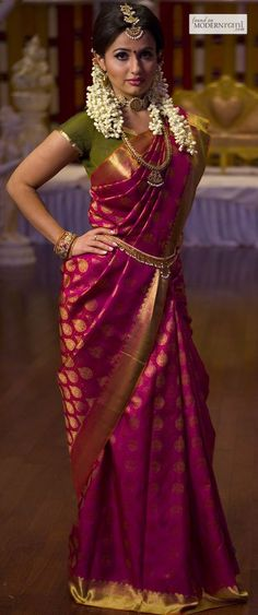 silk Saree trend inspire from actress.