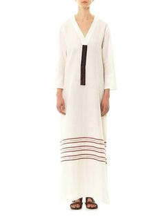 Zeus + Dione Phryne cotton dress Cotton Dresses, Duster Coat, Jackets, Stuff To Buy, Inspiration, Clothes, Style, Fashion, Down Jackets