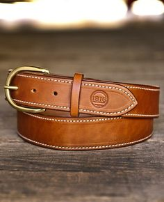 1816 Handmade Leather Belt | Remington 1816