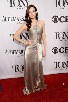 Tony Awards Best Dressed: Lena Hall and Emmy Rossum Are Red-Carpet Ready | Vanity Fair