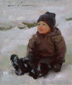 Fresh Paint - Tuckered out (sold) Salt Lake City Utah, Malm, John Singer Sargent, Z Arts, Art For Kids, Art Children, Art World, Painting Inspiration, Beautiful World