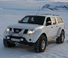 Frontier,arctic trucks