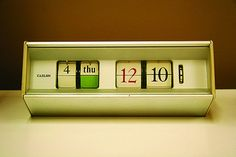 VintageCaslonClock_01 on Flickr - Photo Sharing!