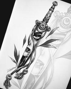 Tatau Tattoo, Neo Tattoo, Handpoked Tattoo, Tatuajes Tattoos, Skull Rose Tattoos, Body Art Tattoos, Sleeve Tattoos, Cool Tattoos, Tatoos