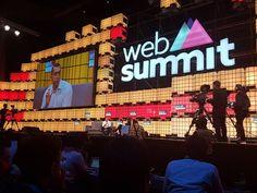 Keynote by Sean Rad,  founder of Tinder #WebSummit #Lisbon