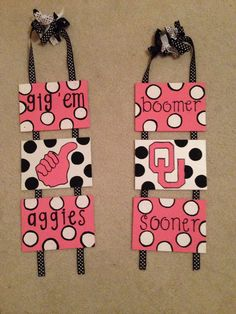 College Dorm Room Crafts Of course with the Alabama Crimson Tide instead
