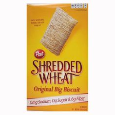 Post Shredded Wheat Original Cereal No Sugar or Salt Added 15Ounce Boxes Pack of 4 * Check out this great product.