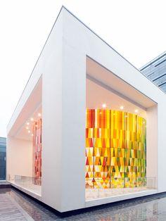 Rainbow Chapel by COORDINATION ASIA, Shanghai – China » Retail Design Blog