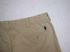 Ralph Lauren Polo Men's Casual Tan Shorts Sz 38 ( Measure 38X10.5) 100% Cotton  #PoloRalphLauren #CasualShorts
