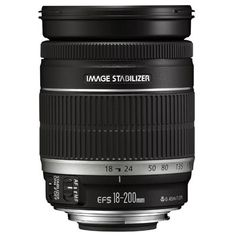 Canon EF-S 18-200mm f3.5-5.6 IS Lens £399