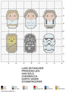 STAR WARS CHIBIS SET 1