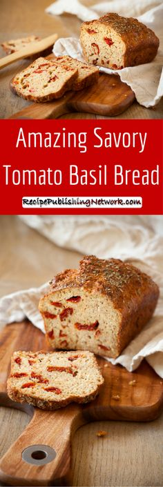 There are many different kinds of recipes for bread from sweet ones to savory kinds. This recipe is for the latter and blends wonderful sun-dried tomatoes with other Italian flavors to deliver a fantastic treat that is healthy and all so good tasting too.