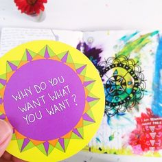 Always a good thing to explore in your journal! Today's Journal Prompt: Why do you want what you want?⠀⠀ ⠀⠀ ⠀⠀ This question will ground you in your dream. The WHY is much more magnetic than the WHAT. Keep this in mind.⠀⠀ ⠀⠀ ⠀⠀ Get your own journaling car