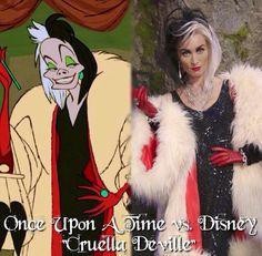 """Once Upon a Time vs. Disney """"Cruella DeVille"""""""
