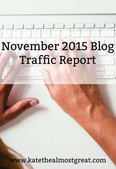 Did I Get More Blog Traffic in November?