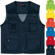 Security & Protection Purposeful Sfvest Reflective Waistcoat Breathable Mesh Vest Blue Yellow Vest For Summer Terrific Value