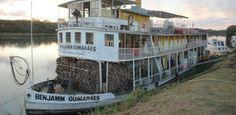 Estiagem e baixa vazão em rio suspendem viagens de barco a vapor em MG