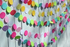 Popular Items For Party Decorations On Etsy Easter Garland Diy Decoration Birthday