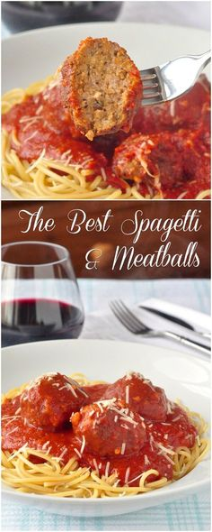 My version of the Best Spaghetti and Meatballs mixes both beef and pork and echoes the flavours of good Italian sausage in the tender, juicy meatballs, while keeping the tomato sauce as simple as possible.