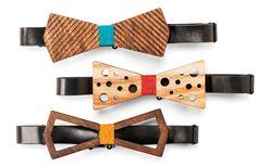 Wooden bowties, BO b
