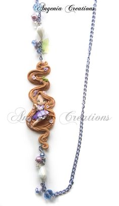Rapunzel necklaces by ~AngeniaC on deviantART