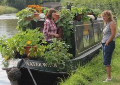 How's this for a floating garden?