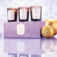 Cultivate Jasmine Blossom Candle Set each Candle Set, Christmas 2015, Natural Skin Care, Body Care, Dusk, Jasmine, Beautiful, Lady, Style