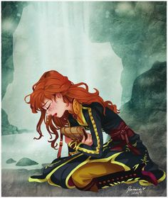 Anna - The Next Right Thing. by marrowmoody Anime Disney, Disney Princess Art, Disney Kunst, Disney Fan Art, Anime Princess, Frozen Disney, Princesa Disney Frozen, Disney Magic, Disney Cartoons