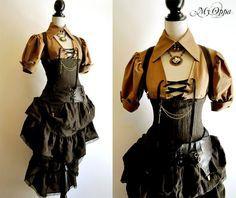 vestidos steampunk estilo victoriano - Buscar con Google