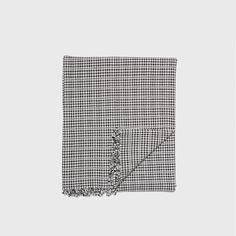 Soho Tablecloth - Black/White