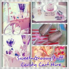 #Sweet #Cart #Candy #Buffet for Hire #Manchester #sweetngroovystuff #sweetcart #pretty #wedding #christening #civil #vintage #party 21st #white #candycart www.facebook.com/sweetngroovystuff