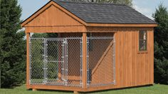 Dog Kennel 8'x12' Board and Batten
