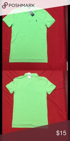 Boy's Ralph Lauren Polo Shirt Brand new key lime green young boy's polo shirt Polo by Ralph Lauren Shirts & Tops Polos