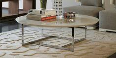 Coffee table high gloss white Frame Chromium playful under Giuseppe Viganò Porada simple