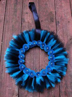 Tulle Wreath for all seasons. $25.00, via Etsy.: