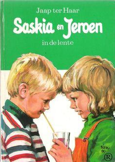 Saskia en Jeroen - In de lente. Schrijver: Jaap ter Haar. Uitgegeven door Holkema & Warendorf-Bussum
